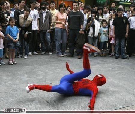 Favorite Comic Book Character of the Month: SPIDERMAN!