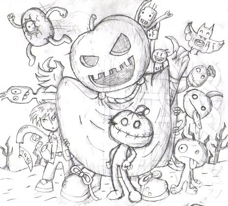 Halloween Yipeeeee :(
