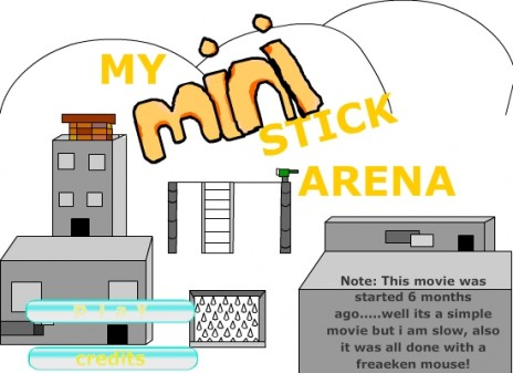 My New Movie, my mini sitck arean in flash protal