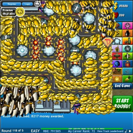 my impenetratable fortress. Bloons TD 4