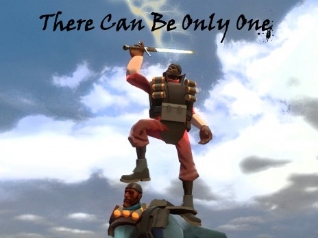 There Can Be Only One.