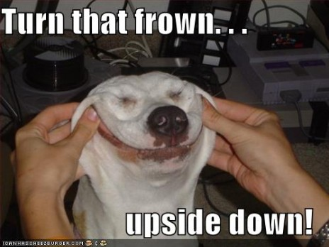 Lets turn that frown upside down