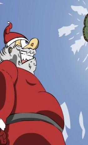 The Last Mall Santa Come See!