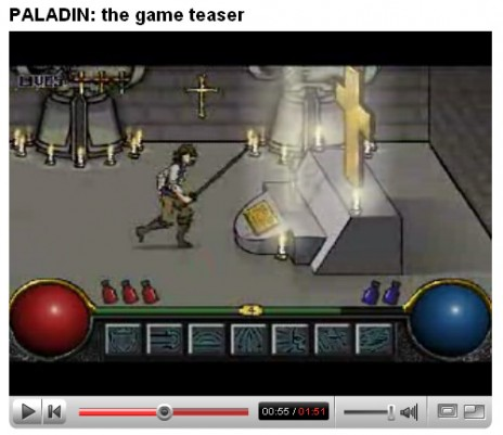 PALADIN: game teaser video released