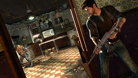 Uncharted 2 is awesome..