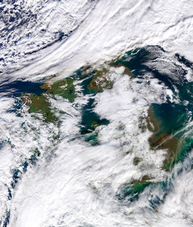 Ireland's current weather conditions and ignorance towards climate change.