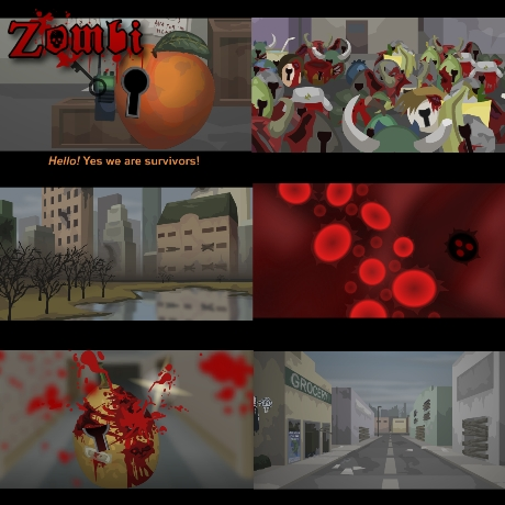 Rreview of 'ZOMBI', my largest project to date!