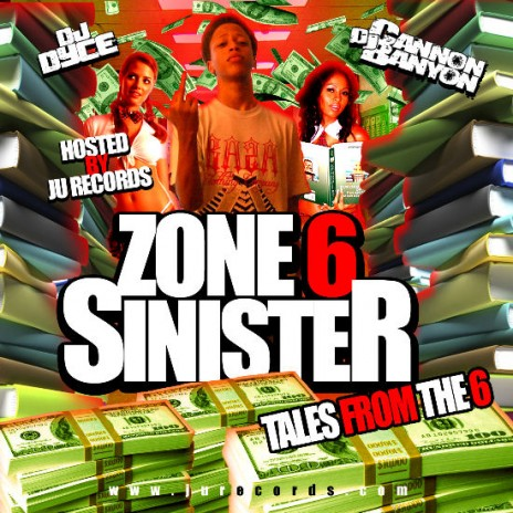 Zone 6 Sinister - Tales From The 6 Hosted By Dj Cannon Banyon & Dj Dyce (FREE DOWNLOAD)