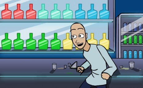New Cartoon - Isham's Sexy Night Out
