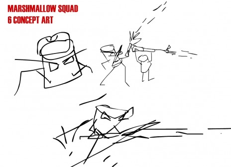 marshmallow squad 6 concept art