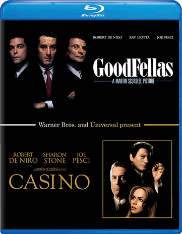 Goodfellas/Casino BD Double Pack