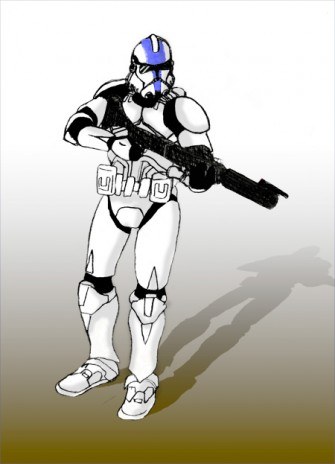 a Storm Trooper