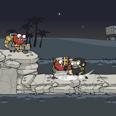 32-hour game development nerd-fest + incoming stuff