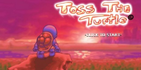 toss the turtle!!