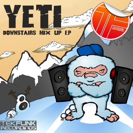 YETI - Downstairs Up EP Cover Artwork