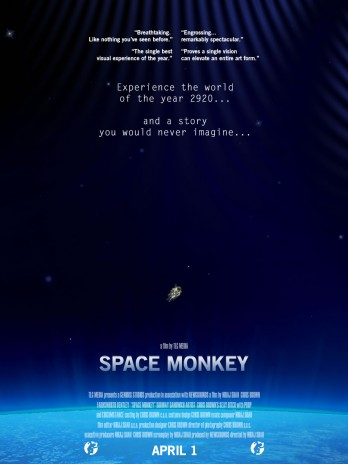 Space Monkeys Adventures: Episode One IS FINALLY UP!