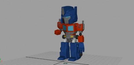 New anim - Optimus transform!