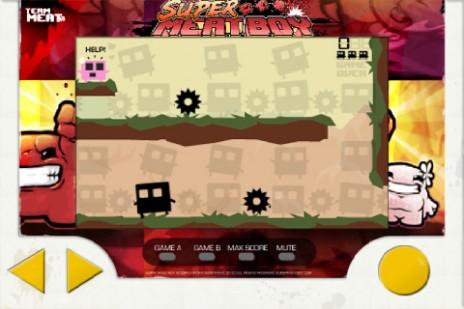 Super Meat Boy Iphone app!