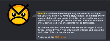 Banned?