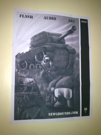 Sexy Tankmen Poster