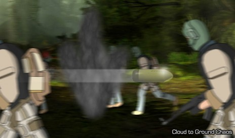 Cloud to Ground Lightning III Screen