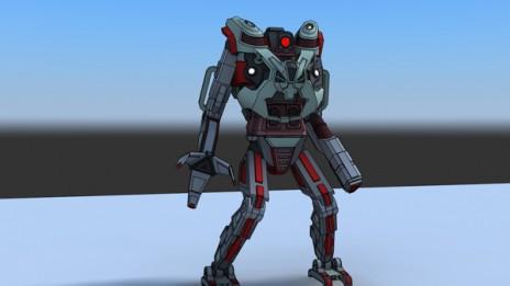 look a robot