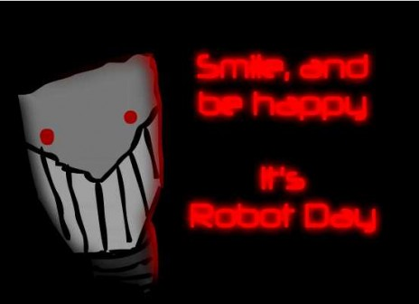 Robot Day, better than Christmas?