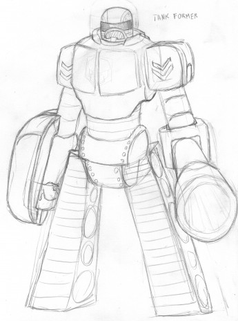 Free sketchs For Robot Day