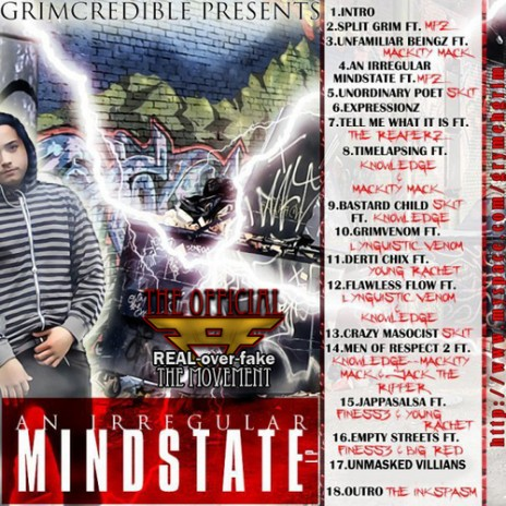 Grimcredible Presents: An Irregular Mindstate Mixtape