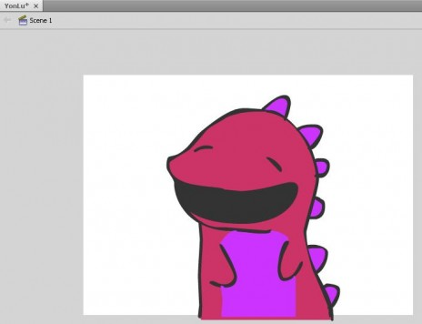 Working on a new animation.