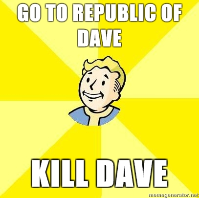 the republic of dave