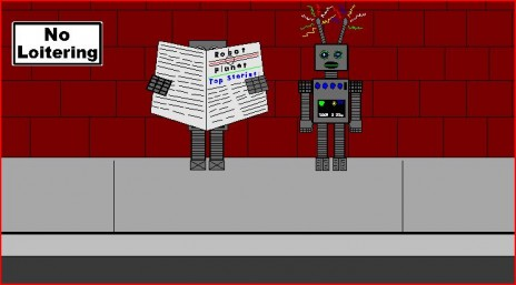 New Animation Up!  Robot Rejection