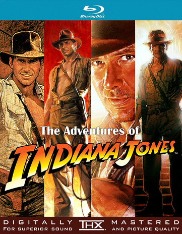 Indiana Jones Blu-Ray