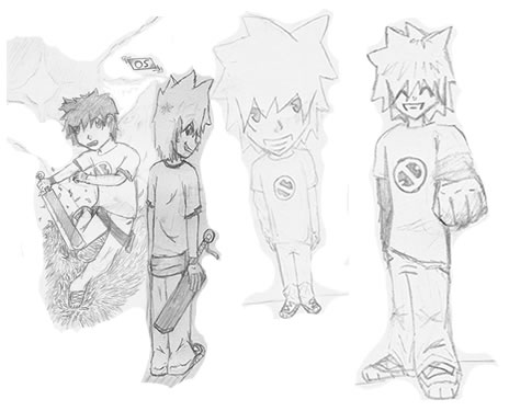 Characters Sketches