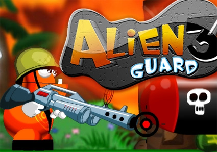 New Game - Alien Guard 3