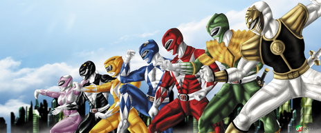 GO GO POWER RANGERS! wait whaaaat??