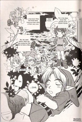 The Legend of Zelda : Manga : page 5