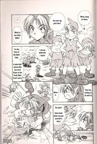 The Legend of Zelda : Manga : Page 7