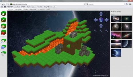 CSS3 3D Game Editor