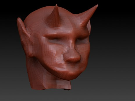 Zbrush first mold