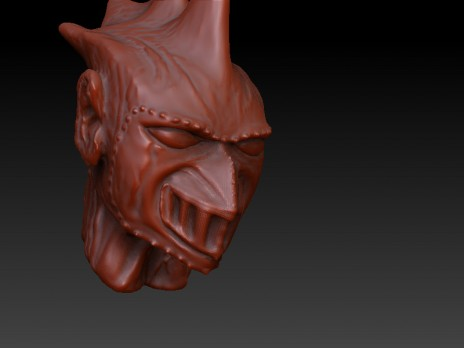 ZBrush head concept 2
