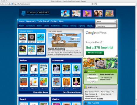 Flash Cabinet - Free Online Flash Arcade Games