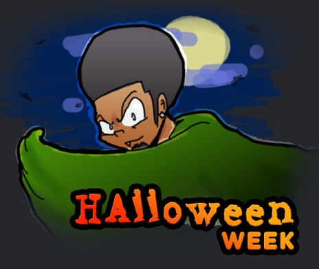 Twisted Comix Halloween Week!