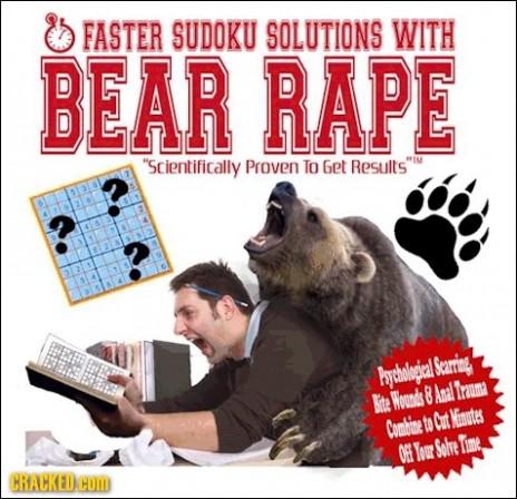 Bear Rape