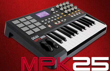 MPK 25 my first Midi