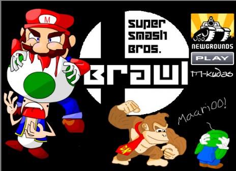 Super Smash Bros. Brawl Flash out by Feb.