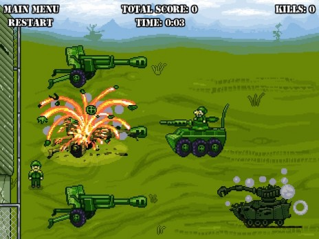 """Hey there! Check out our new easy to play pixel art game """"Steel Meat""""! Oink!"""