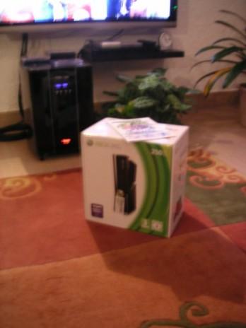 Guess who won an Xbox360 ...