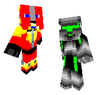 Scout my Minecraft skins, please?