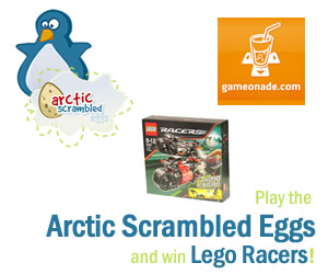 Play our game and win Lego Racers